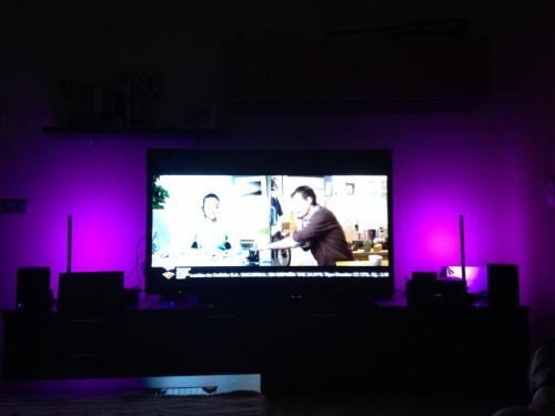 Luces en la tele