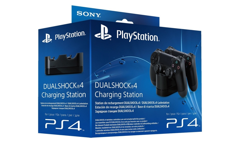 Cargador de PS4